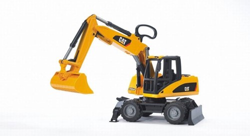 BRUDER CAT Wheel excavator Spielzeugfahrzeug