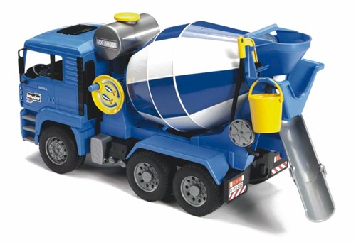 Bruder MAN Cement mixer - 2744