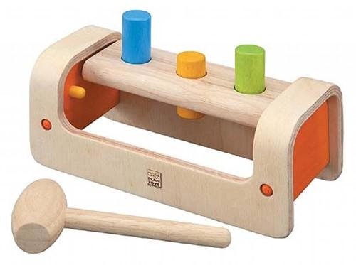 Plan Toys  Holz Lernspiel Hammerspiel