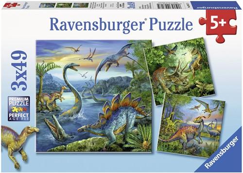 Ravensburger Kinderpuzzle - Faszination Dinosaurier