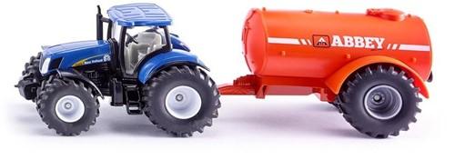 Siku Traktor mit Ein-Achs-Güllefass