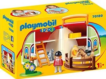 Playmobil 1.2.3 70180 Spielzeug-Set