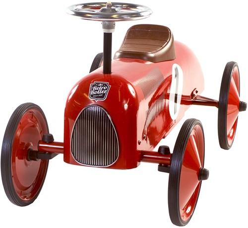 Retro Roller  loopauto rood James-2
