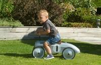 Retro Roller loopauto zilver Jean-3