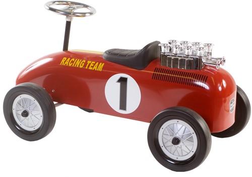 Retro Roller  loopauto Racingteam rood Niki-2