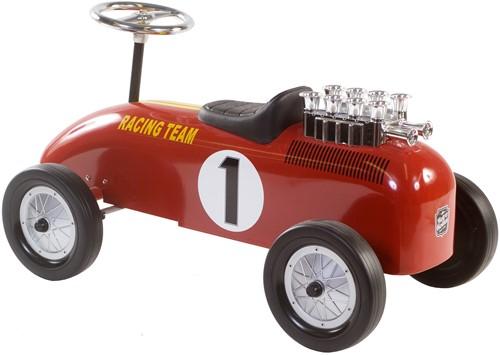 Retro Roller  loopauto Racingteam rood Niki-3