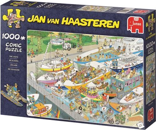 Jan van Haasteren Die Schleuse 1000 Teile