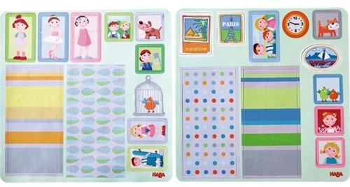 Haba Little Friends – Puppenhaus Klebe-Deko-Accessoires