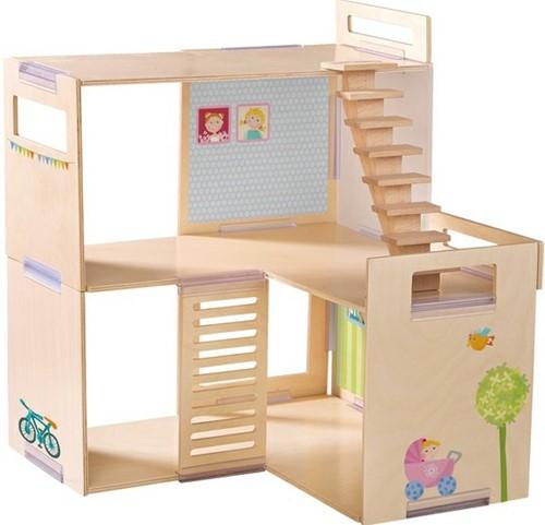 Haba Little Friends – Puppenhaus Klebe-Deko-Accessoires-3