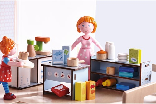 Haba Little Friends – Puppenhaus-Zubehör Küche-2