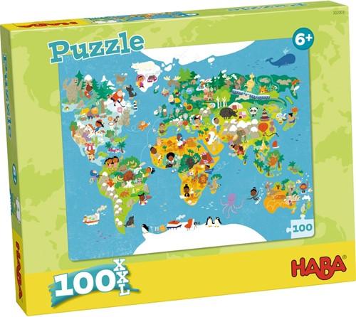 Haba Puzzle Weltkarte