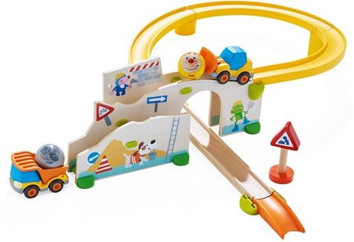 Haba Kullerbü – Spielbahn Auf der Baustelle