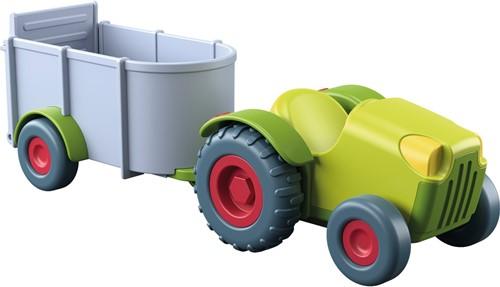 Haba Little Friends – Traktor mit Anhänger