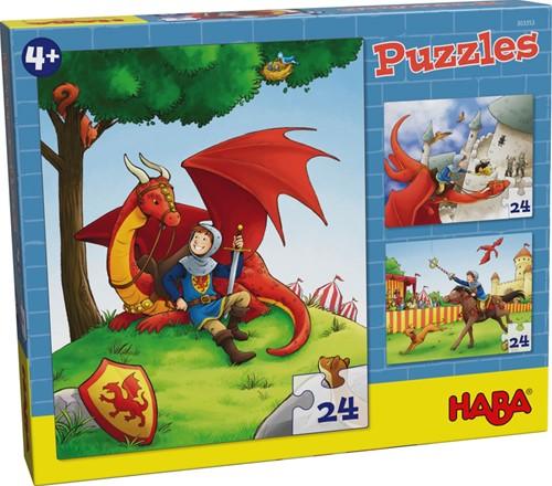 Haba Puzzles Ritter Kilian