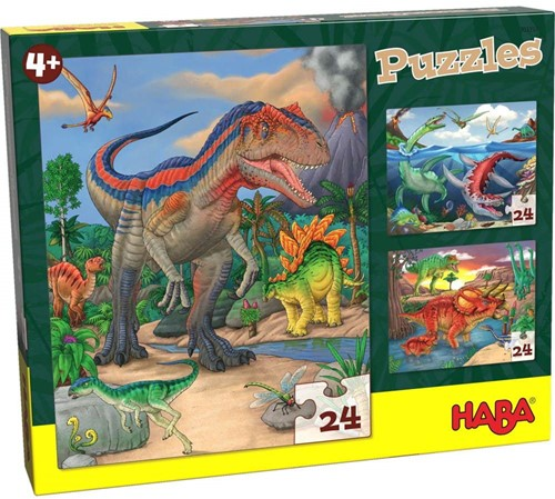 Haba Puzzles Dinosaurier