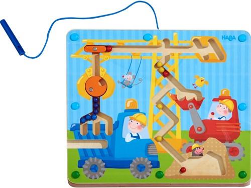 Haba Magnetspiel Auf der Baustelle