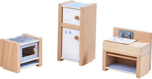 Haba Little Friends – Puppenhaus-Möbel Küche