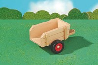 Fagus  houten speelvoertuig aanhanger 22cm-2