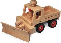 Fagus  houten speelvoertuig sneeuwschuiver-3