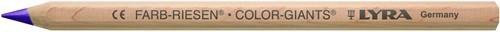 Lyra Pencil COLOUR-GIANT®,unlacquered METALLIC in box of 12 pcs 1