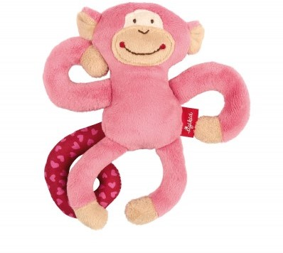 sigikid Anhänger, Affe pink