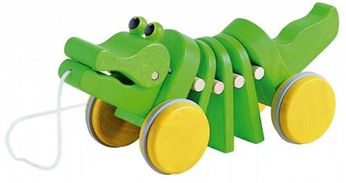 Plan Toys  Holz Ziehfigur Krokodil