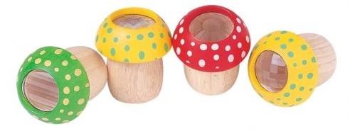 Plan Toys Holz Kaleidoskop Pilz