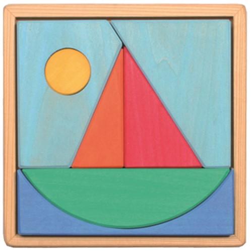 Grimm's - Bauspiel Segelschiff