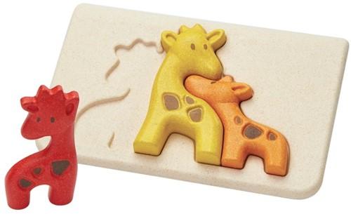 Plan Toys Giraffenpuzzle