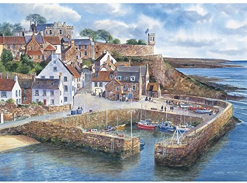 Gibsons Puzzle Crail Harbour - 1000 Teile