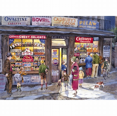 Gibsons Puzzle The Corner Shop - 500 Teile