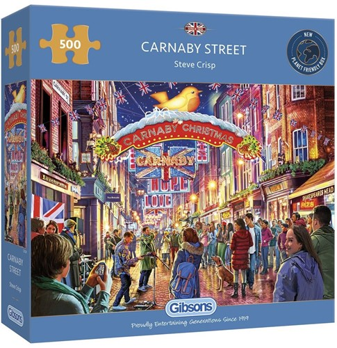 Gibsons Puzzle Carnaby Street - 500 Teile
