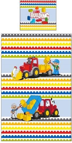 LEGO Dekbed Lego Duplo blocks