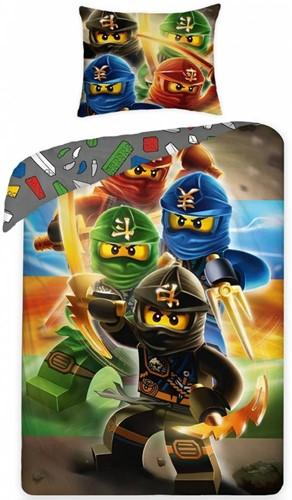 Lego  Ninjago set dekbed 140 x 200cm
