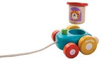 Plan Toys  Holz Ziehfigur Fröhliche Lokomotive-2
