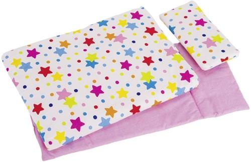 Goki Puppenbettzeug Sterne