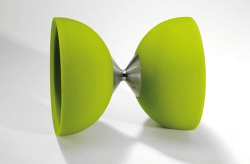 Acrobat - 105 Rubber Diabolo Green