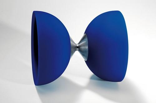 Acrobat - 105 Rubber Diabolo Blue