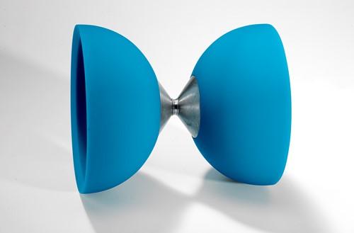 Acrobat - 105 Rubber Diabolo Light Blue