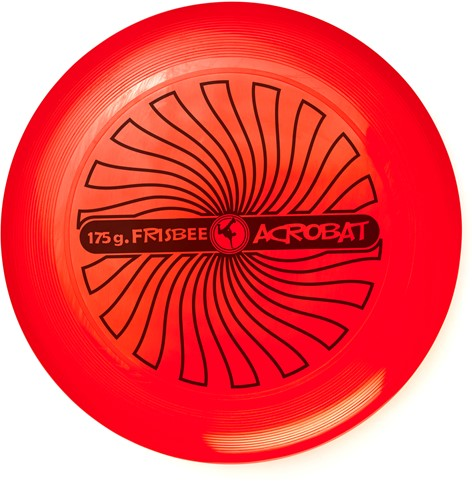Acrobat - Flying Disc 175g. - Red