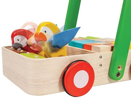 Plan Toys  Holz Laufwagen Bird Walker-3
