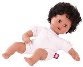 "Götz Muffin to Dress, """"Afro"""", zwart haar, slaapogen, 33 cm"