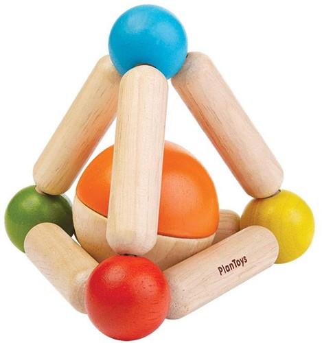 Plan Toys  Holzrassel Greifling Dreieck