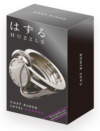 Huzzle Cast Puzzle - Ring II*****