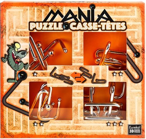 Eureka puzzel Puzzle Mania Casse-têtes Orange