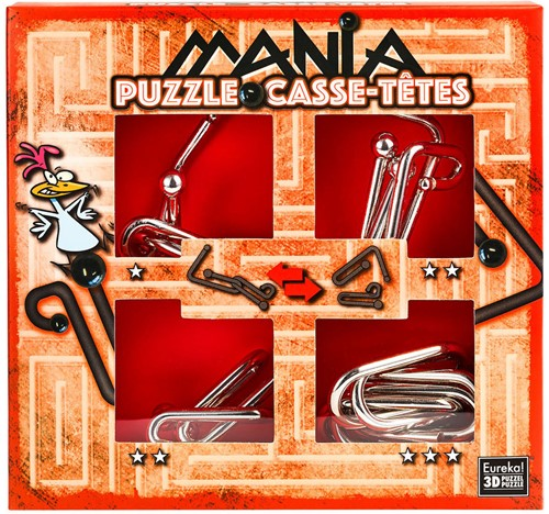 Eureka puzzel Puzzle Mania Casse-têtes Red