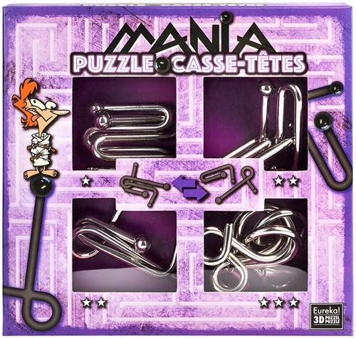 Eureka puzzel Puzzle Mania Casse-têtes Purple