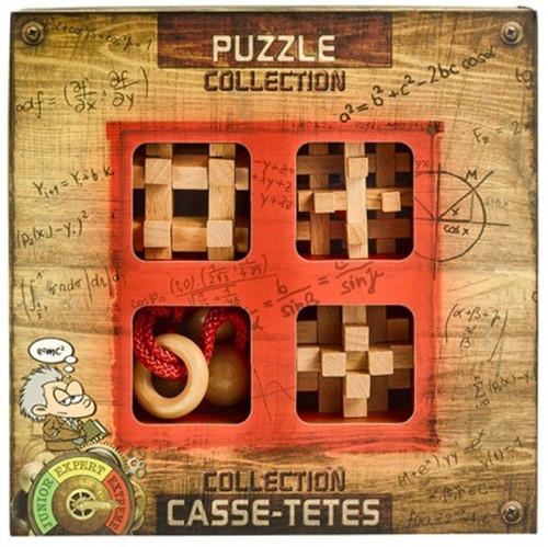 Eureka Puzzle Collection - Extreme Wooden Puzzles collection