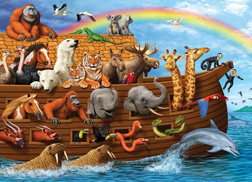 Cobble Hill Familie puzzle 350 Teile - Voyage of the Ark