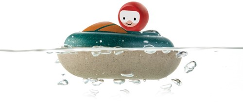 Plan Toys  Holz Badespielzeug Motorboot-2